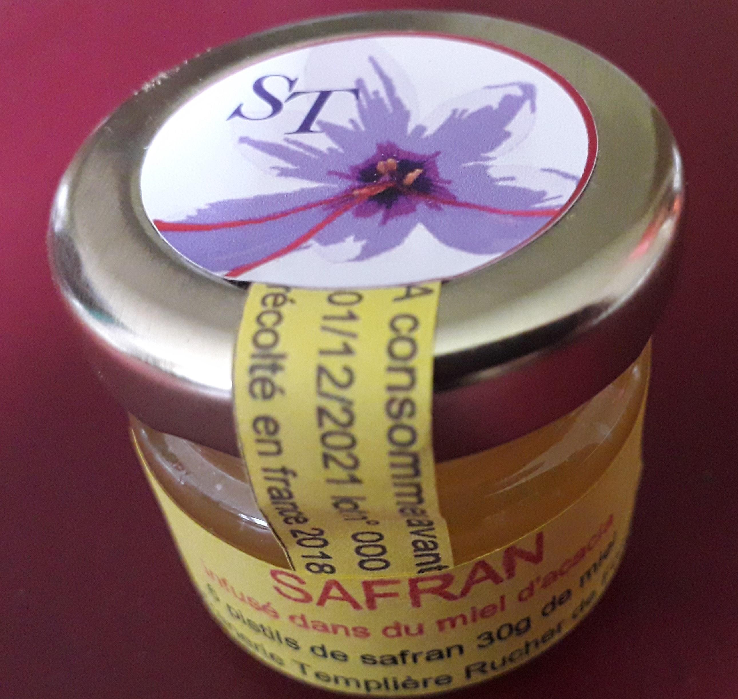 safran confit au miel